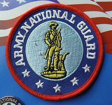 Us Army National Guard Veteran Embroidered Patch 3.2 Inches
