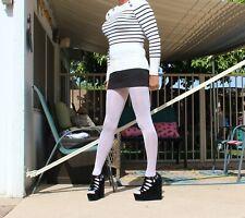 H&M Polka Dot Denim Micro Mini Jean Skirt Small