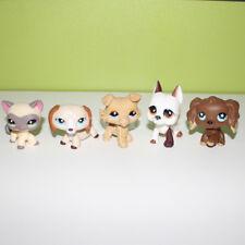 Littlest Pet Shop toy lot LPS tiger cat dachshund collie great dane spaniel dog