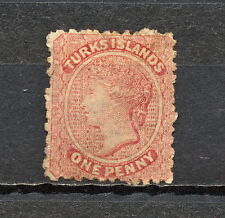 (NNAS 365) TURKS ISLANDS 1867 MNG MICH 1