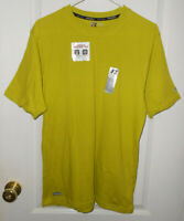 New Men/'s Hanes Chili Pepper Red Heather Crew Neck T-Shirt size 2XL 50-52