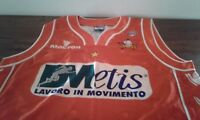MAGLIA SHIRT CAMISETA VARESE BASKET OFFICIAL MACRON SIZE XL