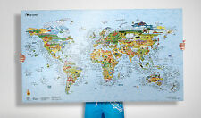 The Surf Trip Map - great gift for any surfer, 100's of spots on a quality map