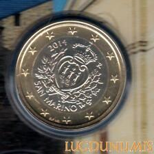 Saint Marin 2014 - 1 Euro - 35 000 ex du BU RARE - San Marino