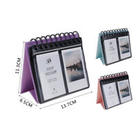 "3"" Calendar Style Desktop Photo Album 68 Film Picture Case For Fujifilm Polaroid"