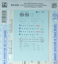 Microscale Decal N  #60-432 Covered Hopper Decal Set - American/Reynolds Metal/S