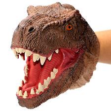 T-Rex Head Glove Hand Puppet Kids Toys Dinosaur Christmas Gift Tyrannosaurus Rex