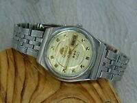 Orient Crystal 3 star vintage automatic 21 jewels Japan mens watch