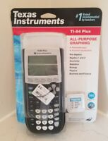 New Texas Instruments TI-84 Plus Graphing Calculator w/ Batteries
