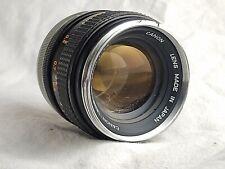 Canon FD 50mm F1.4 Lens