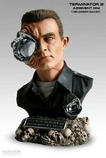 SIDESHOW RARE TERMINATOR T-1000 LEGENDARY SCALE BUST LOW # FACTORY SEALED SHIPPR