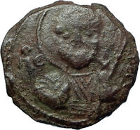 CRUSADERS of Antioch Tancred Ancient 1101AD Byzantine Time Coin St Peter i66057
