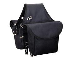 Weaver Black Insulated Saddle Bag Horse New Heavy Duty Free Shipping