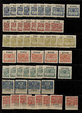 1916 & 1921 Argentina Santa Fe Lot of 50+ MNH Revenues