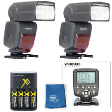 Yongnuo YN560TX LCD Wireless Flash Controller + 2 pcs YN660 Flash For Canon T7I