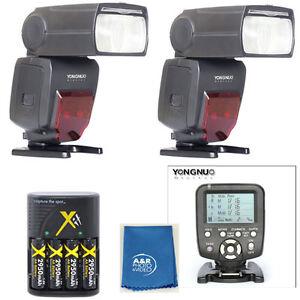 YongNuo YN560TX LCD sans Fil Flash Contrôleur + 2 Pièces YN660 Flash pour Nikon