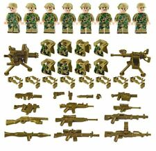 8sets Military Mini Army Soldier Guns Weapons Building Blocks Kids Toy Fits Lego