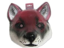 Red Fox Plastic Half Mask Halloween Costume Accessory Prop Wild Animal Farm pvc