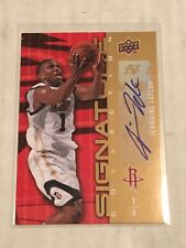 2009-10 Upper Deck JERMAINE TAYLOR Signature Collection #191! STANDARD SHIP