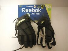 "Reebok Youth Lacrosse Glove Zack Greer 3K Zg3 (Black/Lime, 8"")"