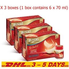 Pack of 3(1 box contains 6x70ml)Brand Instant Swallow Bird's Nest Drink Beverage