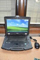 Military Dell Latitude E6400 XFR P9600 2.66GHz 3GB RAM 80GB Windows XP NVS 160M