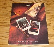 Original 1993 Land Rover Range Rover County & LWB Deluxe Sales Brochure 93
