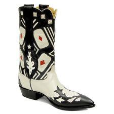 Las Vegas Retro Genuine Leather Rancho Loco Cowboy Boots Men's Size 10D