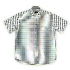 PAUL & SHARK Herren Hemd 39 M 50 bunt kariert kurzarm Men Shirt Oberteil wie NEU