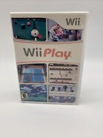 Wii Play (Nintendo Wii, 2007) with Manual Tested Working Cover Art is Faded