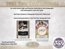 Frank Thomas 2021 Topps Tier One Baseball 2 Case 24Box Break