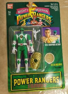 Bandai Green Power Ranger: Tommy Action Figure