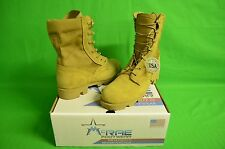 SIZE: 8 Wide McRae Footwear Military Desert Boots coyote HW PANAMA JUNGLE SOLE
