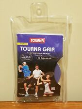 Tourna Grip - Roll of 10 - Light Blue Dry Feel Non-Slip Pro's Choice Made in USA