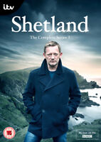 Shetland: Series 3 DVD (2016) Douglas Henshall cert 15 2 discs ***NEW***