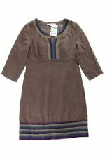 Boden knielange 3/4 Arm Damenkleider