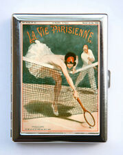 Cigarette Case id case Wallet La Vie Parisienne Tennis Art Deco
