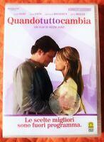 Quando tutto cambia (2007) DVD RENT Nuovo Sigillato Helen Hunt Firth Broderick