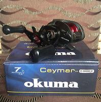 Okuma Ceymar C-266WLX Linkshand Baitcaster Multirolle