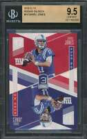 Daniel Jones Rookie Card 2019 Elite Rookie On Deck #10 New York Giants BGS 9.5