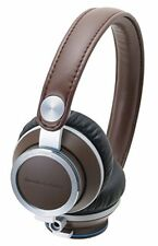 Audio Technica ATHRE700 BW On-Ear Headphones  Brown
