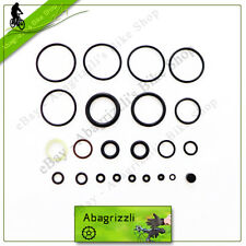 Fox DHX Air ALL MODELS IMPROVED Damper Service Rebuild Oil Seals Kit