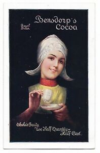 Bensdorp's Royal Dutch Cocoa Pre-1919 Advertising Postcard 315S