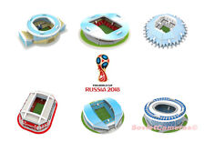 2018 FIFA World Cup RUSSIA 3D Puzzle 6 Models mini Stadiums of Host Cities SET#2