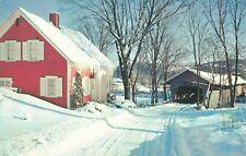 Postcard Bedell Covered Bridge New Hampshire