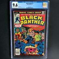 BLACK PANTHER #1 (Marvel 1977) 💥 CGC 9.6 💥 First Issue! Jack Kirby Story & Art