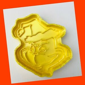 Christmas Grinch Cookie Cutter Fondant Pastry Biscuits Icing