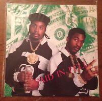 Paid in Full Eric B & Rakim Vinyl LP 1987
