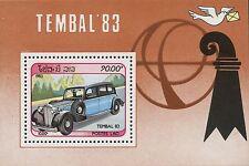 1983 LAOS Bloc N°74** Bf voitures ancienne , automobile, Car LAOS SC#466 MNH