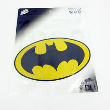 "LARGE BACK PATCH BATMAN IRON ON TRANSFER PATCH 7.5"" X 5.5"